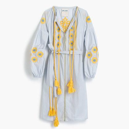 J.CrewGallabiaTM embroidered tunic