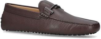 J.P Tods Leather Double T Driving Shoes