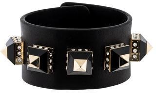 GivenchyGivenchy Studded Leather Cuff