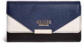 Ariella GUESS Factory Women's Color-Block Foldover Wallet