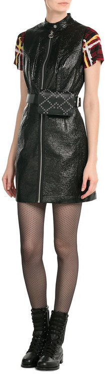 Marc by Marc Jacobs Faux Leather Dress