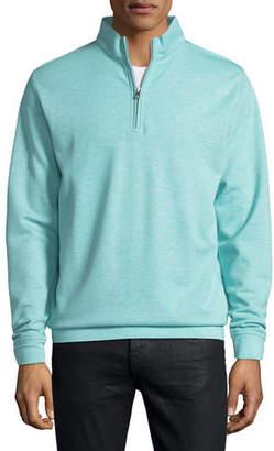 Peter Millar Crown Comfort Interlock Quarter-Zip Sweatshirt