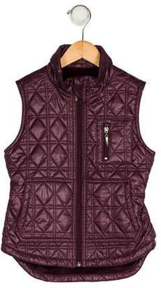 Imoga Girls' Quilted Down Vest