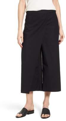Eileen Fisher Foldover Wide Leg Crop Pants