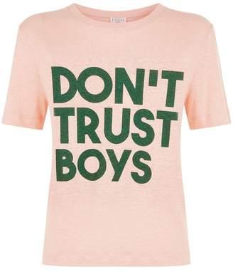 Claudie Pierlot Don't Trust Boys T-Shirt