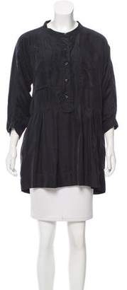 Etoile Isabel Marant Silk Button-Up Top