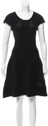 Comptoir des Cotonniers Short Sleeve Knee-Length Dress