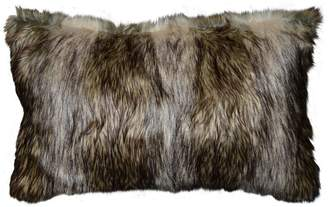 Richmond Spencer Home Decor Faux Fur Oblong Throw Pillow