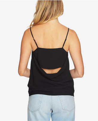 1 STATE 1.STATE Draped-Back Tank Top