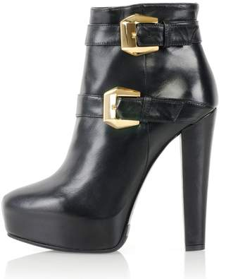 Kim Kwang - Calf Leather Ankle Boot