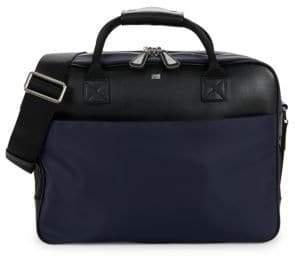 Class Roberto Cavalli Double-Zip Briefcase