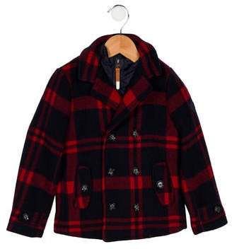 Scotch Shrunk Girls' Woven Double-Breasted Coat w/ Tags