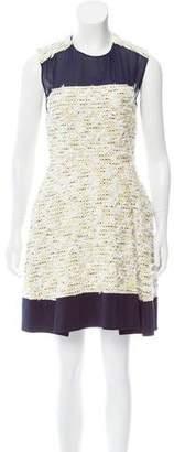 3.1 Phillip Lim Pleated Bouclé Dress