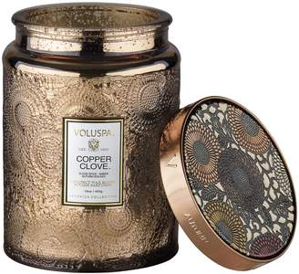 Voluspa Copper Clove Large Glass Jar