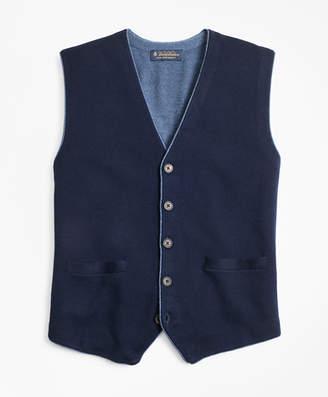 Brooks Brothers Merino Wool Sweater Waistcoat