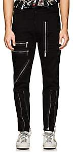 DSQUARED2 Men's Zip-Detailed Skinny Jeans - Black Size 48 Eu