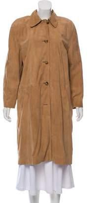 Michael Kors Suede Long Coat
