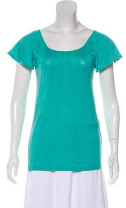 Marc by Marc Jacobs Short Sleeve Tonal Top