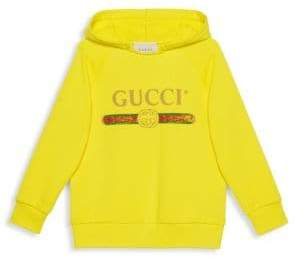 Gucci Kid's Cotton Hooded Sweater