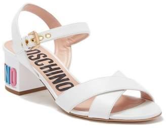 Moschino Logo City Sandal