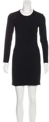 IRO Long Sleeve Cutout Dress