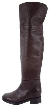 A.F.Vandevorst A.F. Vandevorst Square-Toe Over-The-Knee Boots