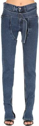 Shayne Oliver Cowgirl Cotton Denim Jeans
