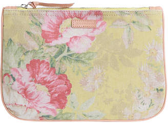 Zimmermann Leather & Canvas Pouch