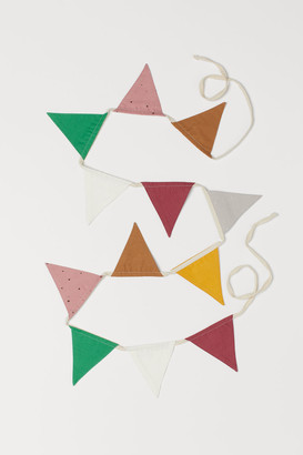 H&M Bunting with pennants
