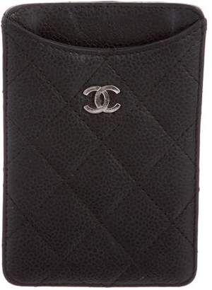 Chanel Quilted Phone Sleeve