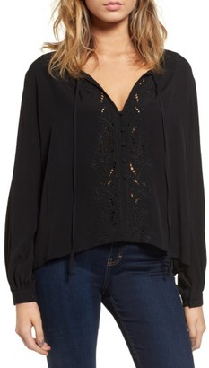 Women's Astr The Label Madina Blouse $98 thestylecure.com