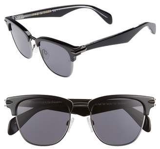 Rag & Bone 52mm Polarized Sunglasses