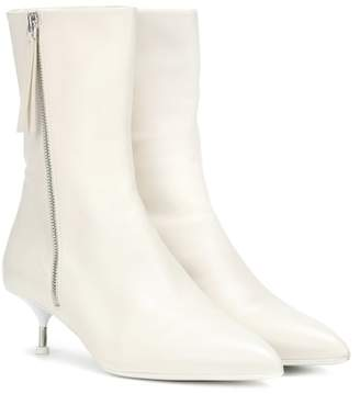 Jil Sander Leather ankle boots