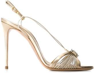 Casadei crystal-embellished sandals