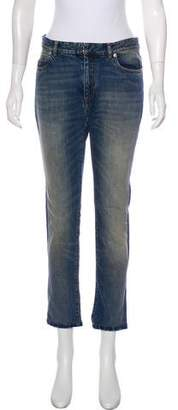 Maison Margiela Mid-Rise Straight-Leg Jeans