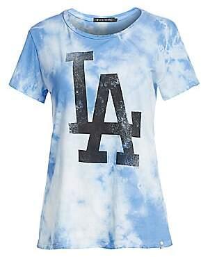 47 Dye House Women's LA Dodgers Tie Dye Tee