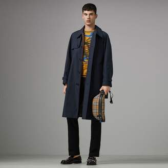 Burberry Heritage Stripe Cotton Gabardine Trench Coat