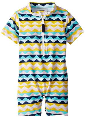 Toobydoo Fun Pattern Sunsuit Kid's Jumpsuit & Rompers One Piece