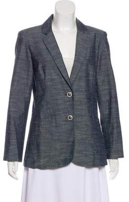 Chris Benz Notch-Lapel Button-Up Blazer