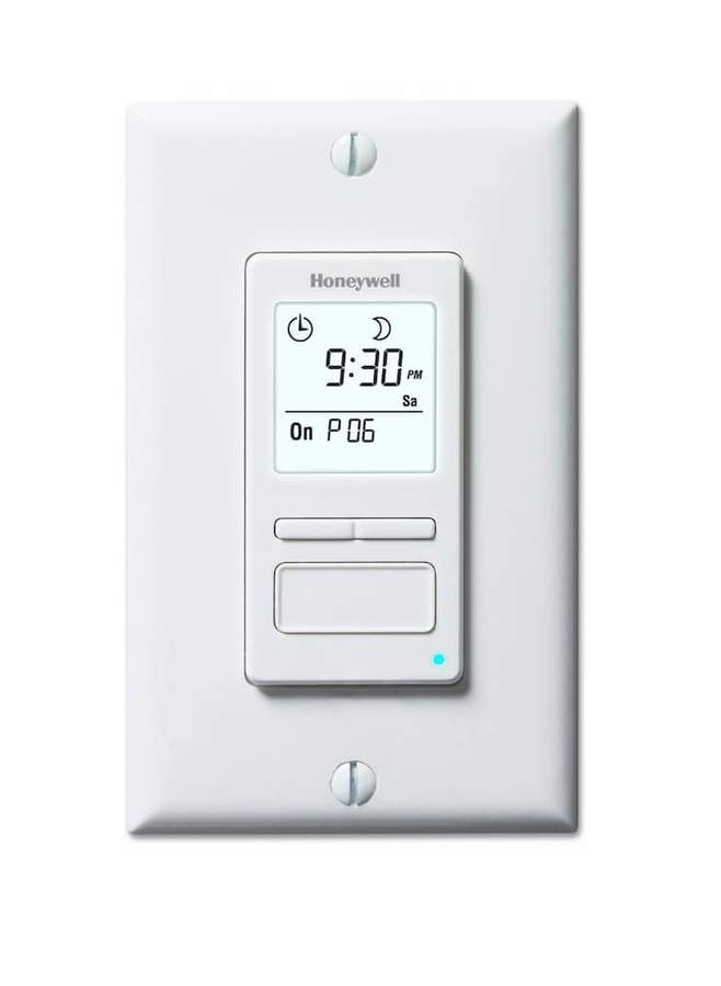 Honeywell ECONOSwitch Solar Programmable Light Switch & Motor Timer