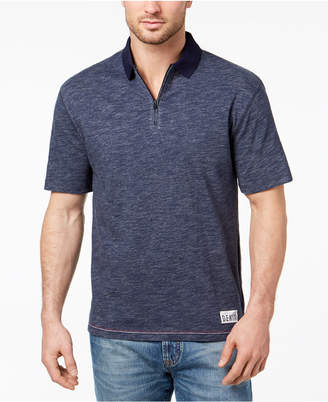 Tommy Hilfiger Men's Oversized Quarter-Zip Polo, Created for Macy's