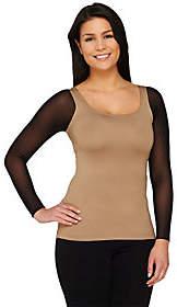 Kelli Kouri Secret Sleeve Reversible Long Sleeve LayeringTop by Kelli