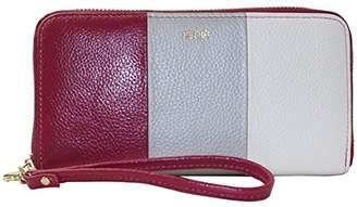 Xenia Style Zip Around Clutch Handbag/Wallet/Purse