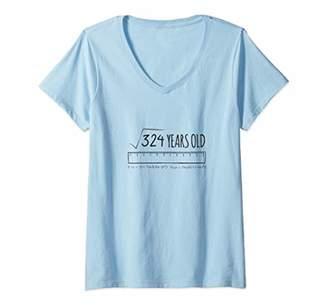 866d22c65 Womens 18th Birthday Shirt Boys Girls Gift Son Daughter 18 Year Old V-Neck T