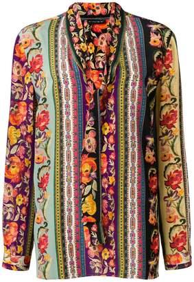 Etro longsleeve printed blouse