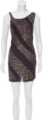 Nina Ricci Embellished Mini Dress