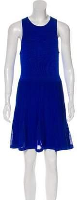 Trina Turk Textured Knit Sleeveless Mini Dress