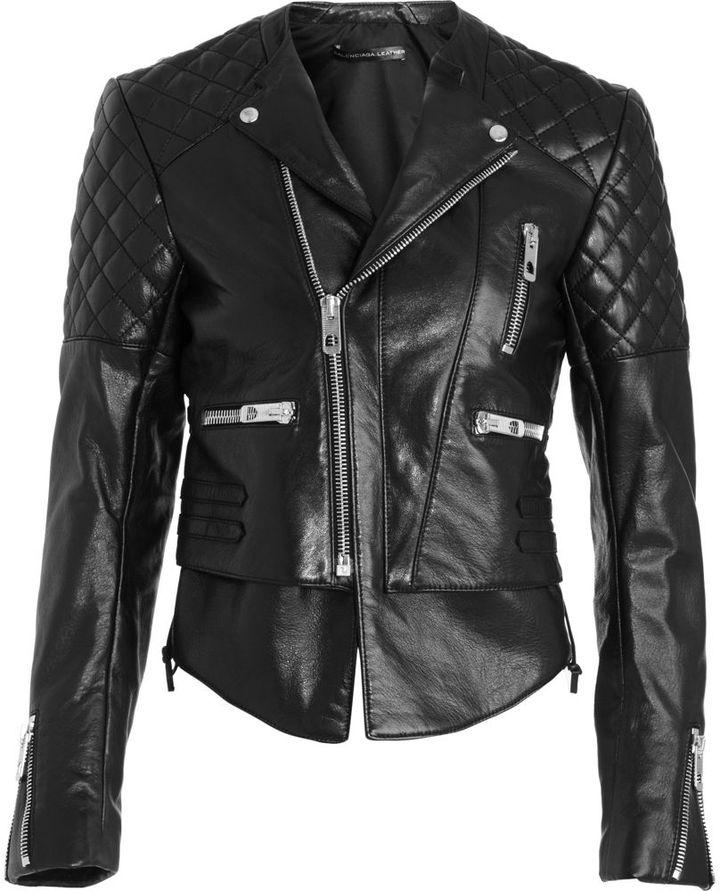 Balenciaga Motorcycle Jacket