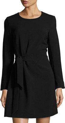 RACHEL Rachel Roy Diane Front-Tie Knit Dress, Black $89 thestylecure.com