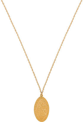 Natalie B Saint Christopher Necklace